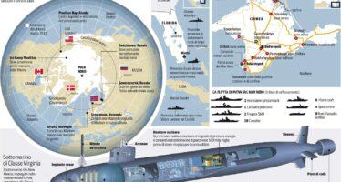 Tra Usa e Russia la disfida dei Mari