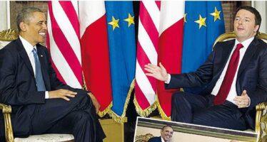 Obama e Renzi. Fiducia sulle riforme