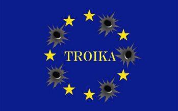 Taglio del debito, investimenti rialzo di pensioni e stipendi il piano che spaventa la Troika