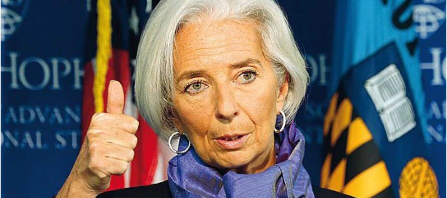 Lagarde: «Ora l'eurozona è più forte ma temo l'inflazione bassa»