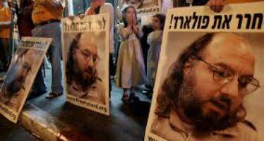 Pollard libero in cambio di prigionieri palestinesi
