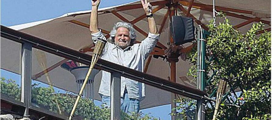 L'escalation di Grillo, usa la Shoah e Primo Levi