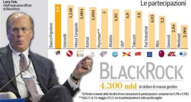 Gli uomini d'oro di BlackRock a Milano