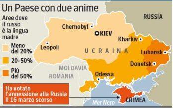 Ucraina, i filorussi in azione Occupati gli edifici pubblici nelle maggiori città dell' Est