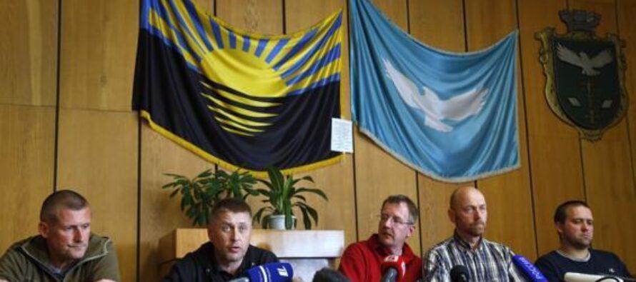 Ucraina, libero uno degli osservatori Assalto alla sede della tv di Donetsk