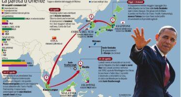 Missione: riconquistare il Pacifico Obama salda l'alleanza anti-cinese