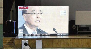 Traghetto, si dimette il premier sudcoreano