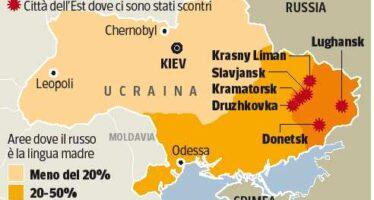 Ucraina, assalti e sparatorie nell'Est «Un atto di aggressione di Mosca»