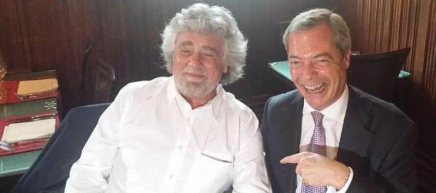 Grillo, sul web sì a Farage L'ira di eletti e militanti: fuori i Verdi, voto falsato