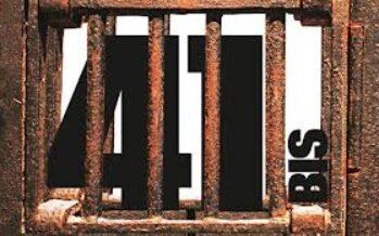 41 bis, vietato spogliare i detenuti al colloquio