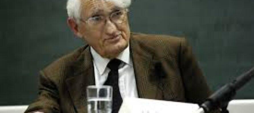 Habermas: la mia critica della ragione disperata