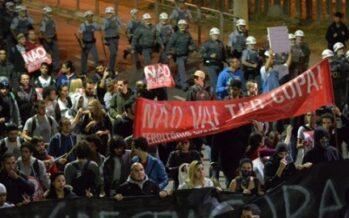 Movimientos sociales de Brasil exigen mejoras sociales y denuncian el gasto del Mundial