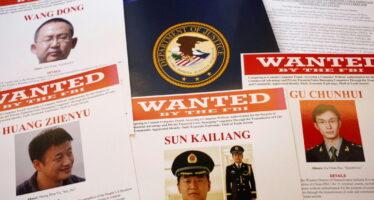 Usa-Cina, cyber guerra in tribunale