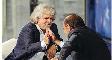 «È un assassino». «Pover'uomo» Berlusconi – Grillo, scontro a distanza