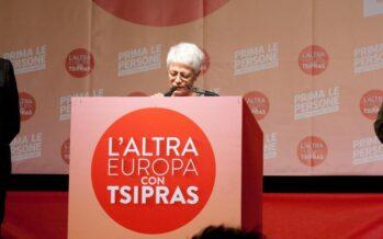 Spinelli: lista Tsipras frammentata, perciò me ne vado
