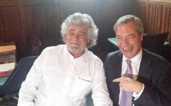 Nasce nel segno dell'estrema destra il gruppo europeo di Grillo e Farage