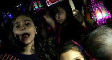 """"""" Lasciateci celebrare il Ramadan """" I bambini di Gaza contro l'assedio"""