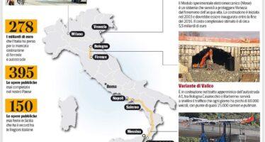Le Grandi opere che l'Italia non sa più costruire