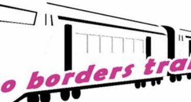 """""""No borders train"""": viaggio da Milano al nord Europa per violare le frontiere"""