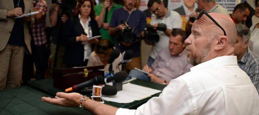 Ingegnere e ambientalista il ciclone Nogarin: sono io quello di sinistra