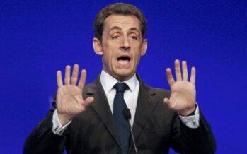 Sarkozy in stato di fermo