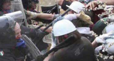 Terzo Valico, lacrimogeni e cariche a Moriassi