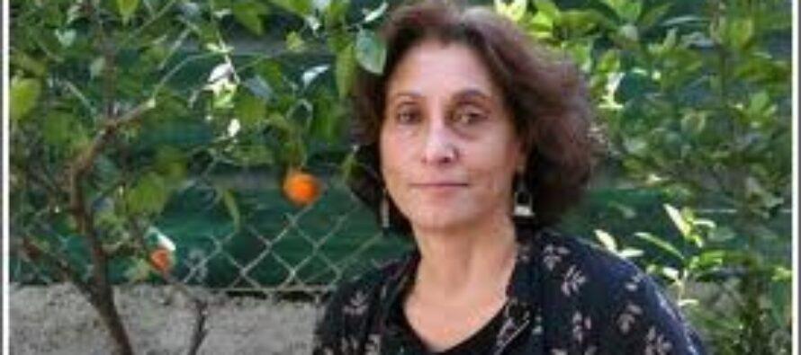 """Suad Amiry """"Questa guerra è contro i bambini E il mondo tace"""""""
