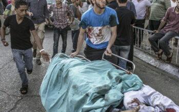 Gaza, strage di bambini otto morti al parco giochi nel giorno della festa Razzi su Israele, 4 vittime