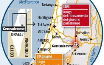 Ucciso ragazzo arabo, rivolta a Gerusalemme