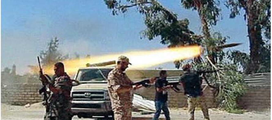 La Libia è in fiamme Occidentali in fuga