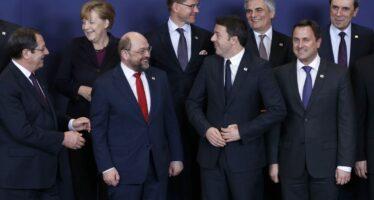 La sfiducia e il pessimismo verso questa Europa neoliberista