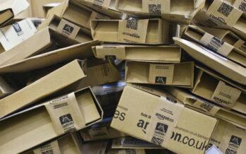 Firmato il contratto della logistica per i fattorini Amazon