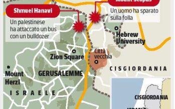 Due attentati scuotono Gerusalemme
