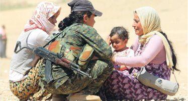 Con i peshmerga sulla linea del fronte «L'Isis ci attacca con le armi Usa»