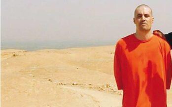 L'Isis e il video dell'orrore «Decapitato James Foley Ora l'America si ritiri»