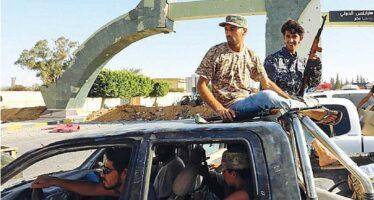 «Aerei egiziani e degli Emirati attaccano in Libia»