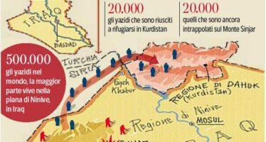 Assetati, a piedi nel nulla. Con gli yazidi braccati dall'Isis