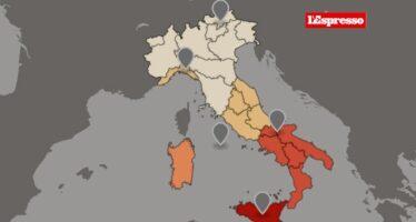 Povertà, la mappa della disperazione in Italia I giovani in vent'anni hanno perso quasi tutto