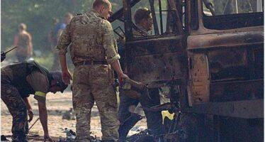 Kiev: «I blindati russi entrati in Ucraina»