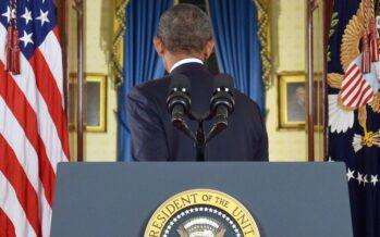 Sabbie mobili per Obama