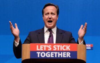 """Il Regno resta Unito la promessa di Cameron """"Sarà super devolution"""""""