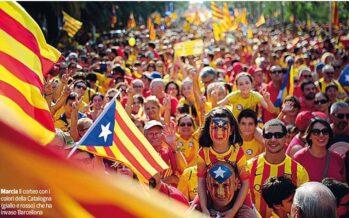 Barcellona ore 17:14, due milioni in strada La Catalogna insegue l'effetto Scozia