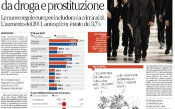 L'Istat ricalcola il Pil 15 miliardi in più da droga e prostituzione
