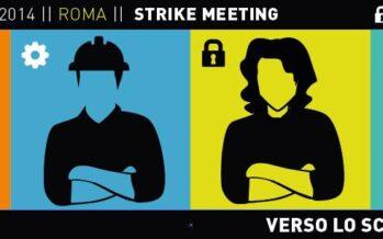 A Roma inizia lo Strike Meeting: «È tempo per uno sciopero sociale»