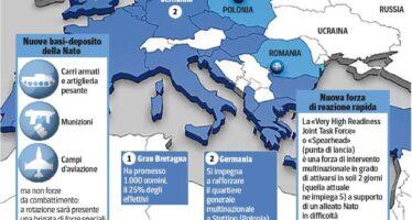 Accordo sulla tregua in Ucraina La Nato si rafforza nell'Est Europa