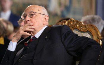 """Napolitano: """"Antipolitica eversiva"""""""
