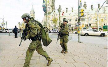 Attacco al Parlamento, terrore in Canada