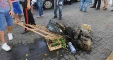 Muore l'operaio edile che si era dato fuoco
