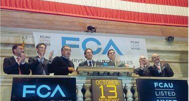 «Fiat-Chrysler a Wall Street, nuovo inizio»