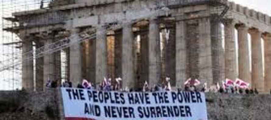 """Tragedia greca per i mercati Borse a picco, euro ai minimi bruciati oltre 200 miliardi Ue:""""Dalla moneta non si esce"""""""
